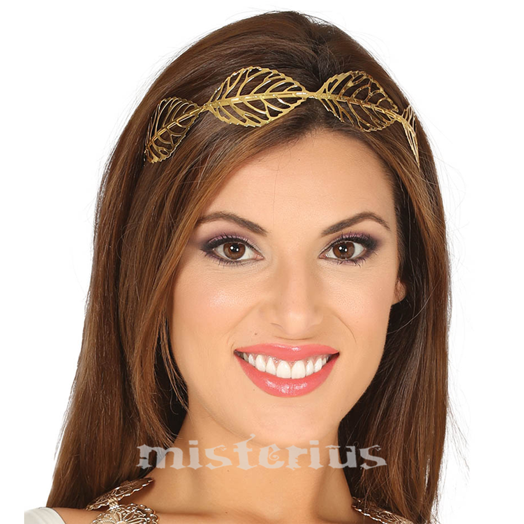 Coroa de Louros Dourada
