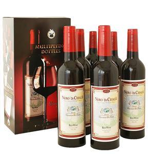 6 Garrafas de Vinho Multiplicação Profissional