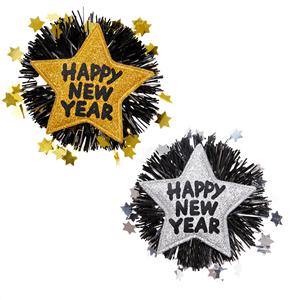 Alfinete Happy New Year