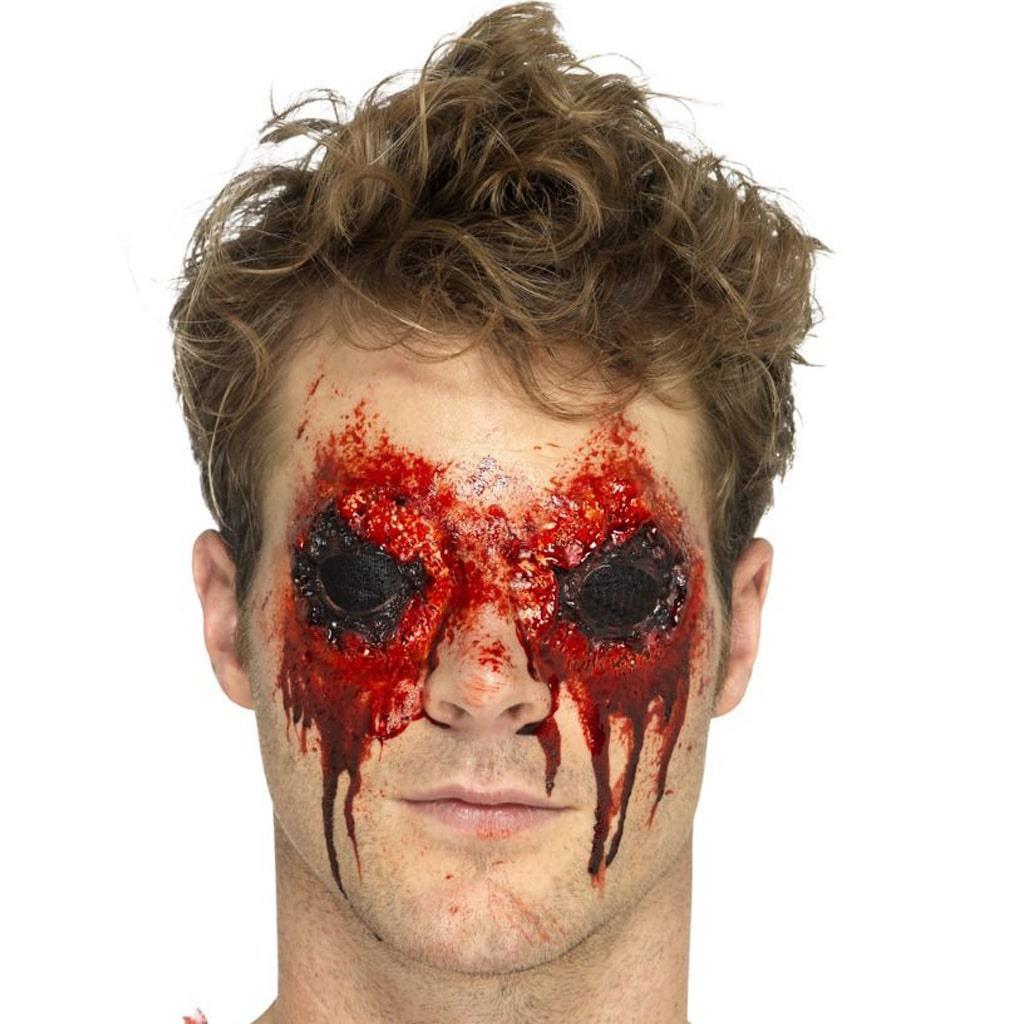 Aplicação Fx Olhos de Zombie
