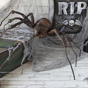 Aranha Castanha Decorativa, 50 x 40 cm