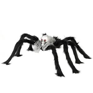 Aranha Peluda com Cabeça de Caveira, 60 x 17 cm