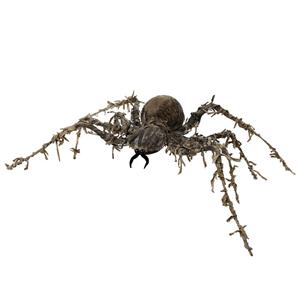 Aranha Zombie Decorativa, 60 x 43 cm