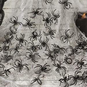 Aranhas Decorativas Halloween, 50 unid.