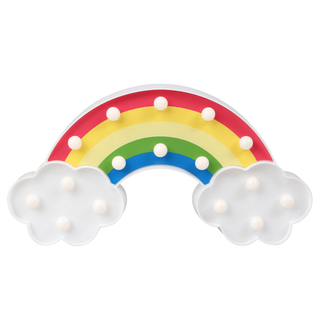 Arco Íris Decorativo com Luz, 30 Cm