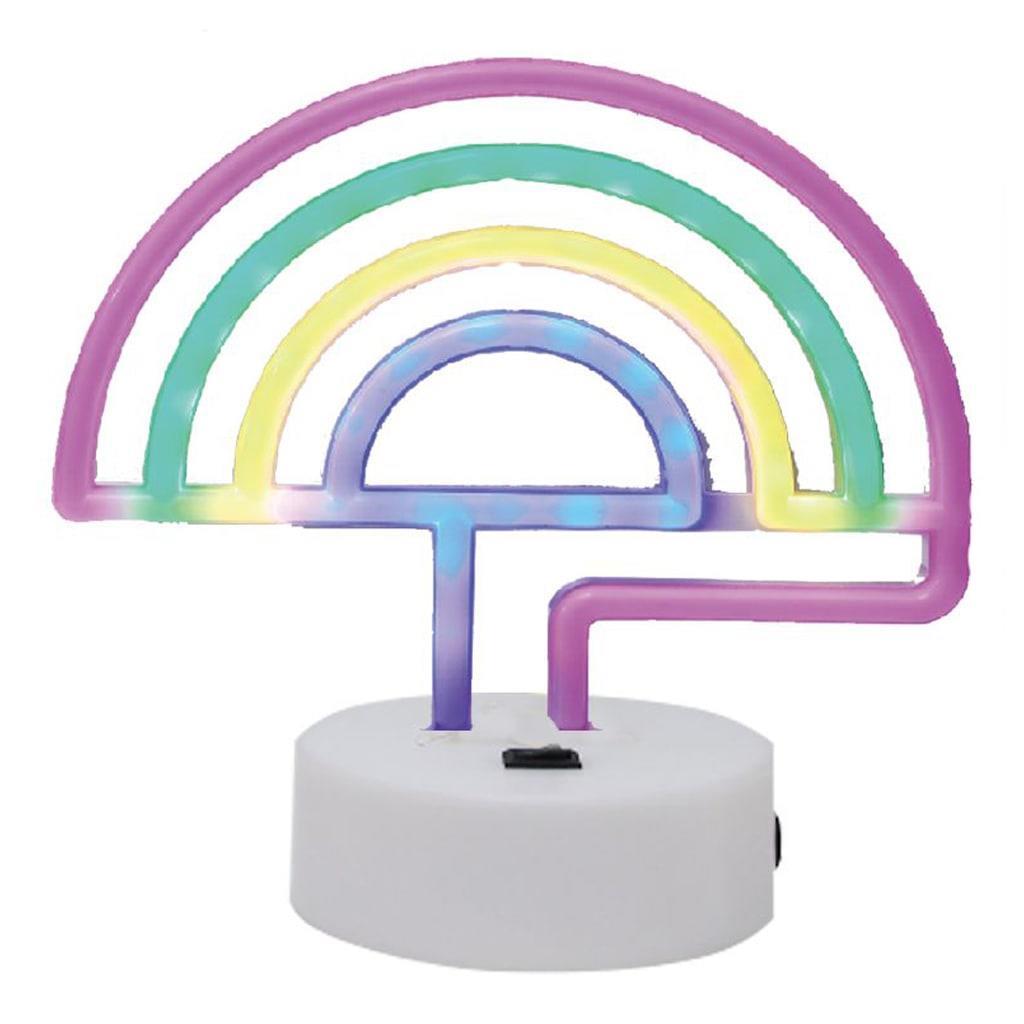 Arco Íris Decorativo com Luz Neon, 22 cm