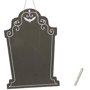Ardósia Lápide Halloween 25x38 cm