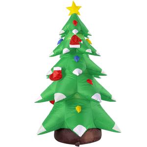 Árvore de Natal Insuflável com Luz, 183 Cm