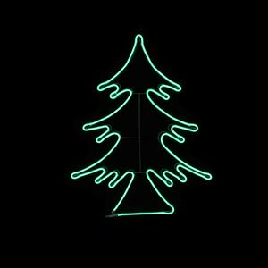 Árvore de Natal LED Verde 66x82 IP44