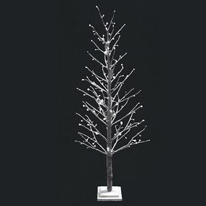 Árvore Luminosa Efeito Neve Leds Branco Quente, 150 Cm
