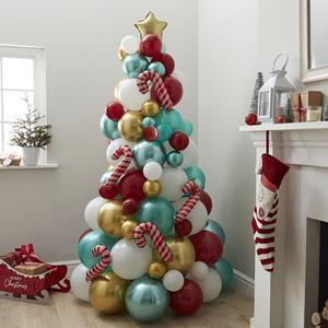 Árvore Natal de Balões Candy