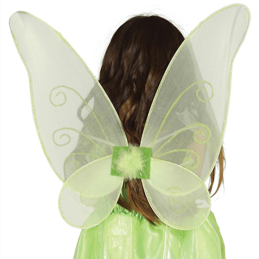 Asas Borboleta Verdes, 40 x 45 cm