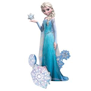 Balão AirWalker Elsa Frozen, 144 Cm