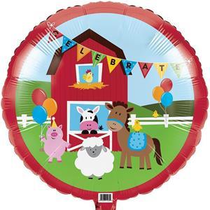 Balão Animais da Quinta Foil, 45 cm