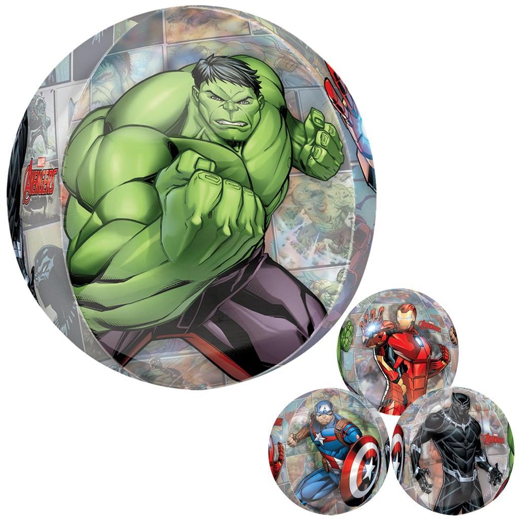 Balão Avengers Marvel Orbz, 38 cm
