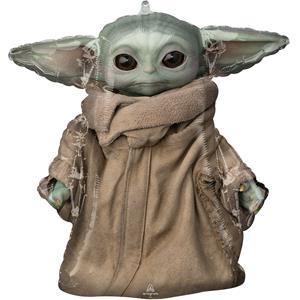 Balão Baby Yoda Star Wars SuperShape Foil, 66 cm