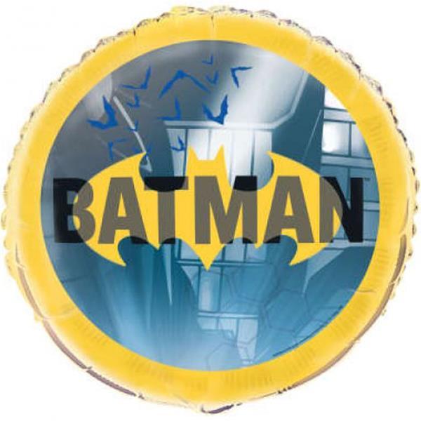 Balão Batman Foil, 45 cm