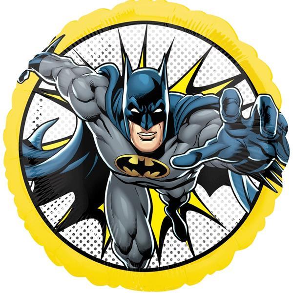Balão Batman Liga da Justiça Foil, 43 cm