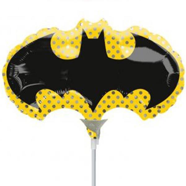 Balão Batman Mini Shape Foil, 35 cm