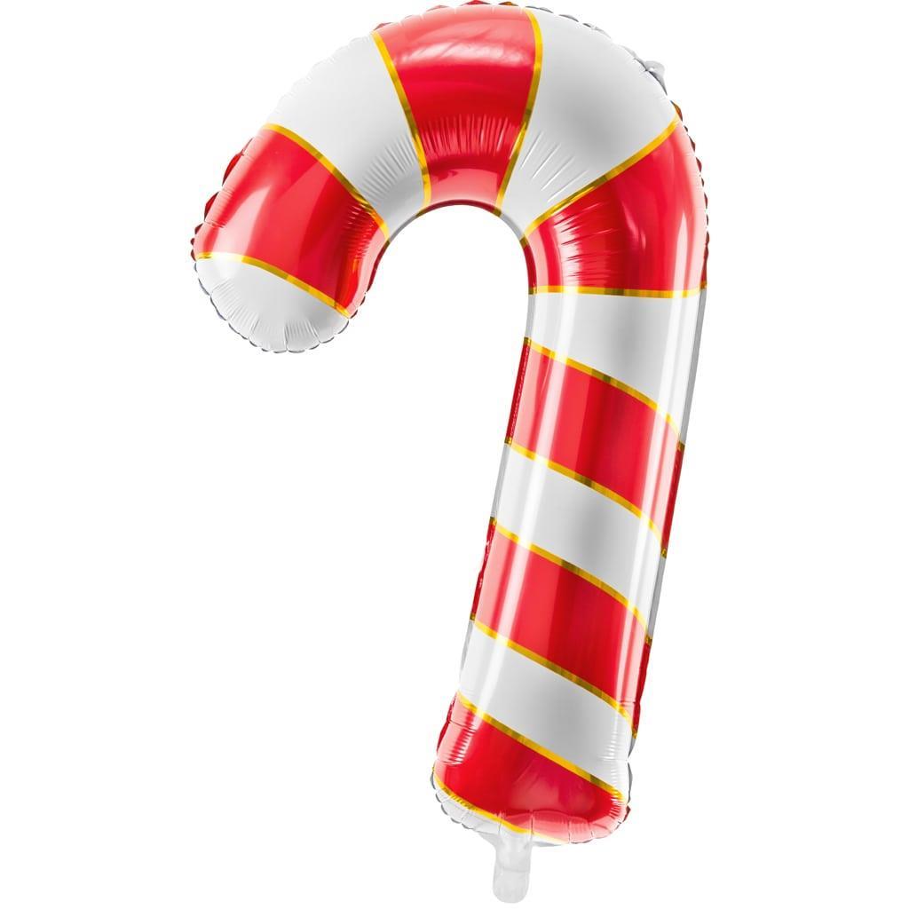Balão Bengala Doce Vermelha Foil, 82 cm