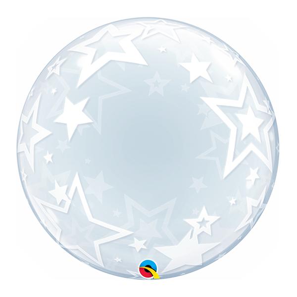 Balão Bubble Estrela 61 cm