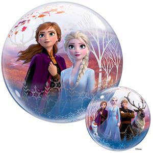 Balão Bubble Frozen II, 56 cm
