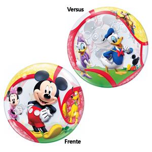 Balão Bubble Mickey
