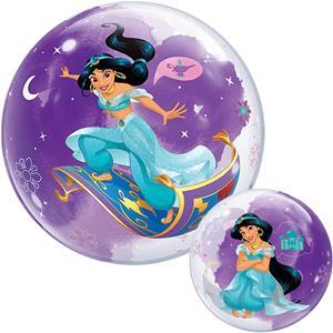 Balão Bubble Princesa Jasmine, 56 cm