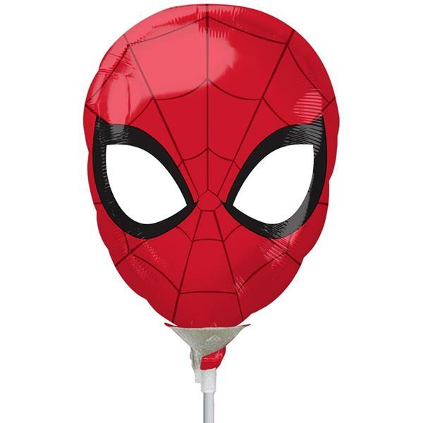 Balão Cabeça Homem Aranha Mini Shape Foil, 30 cm