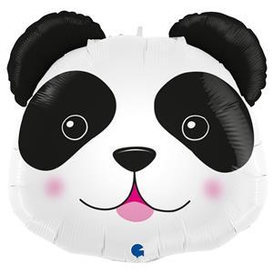 Balão Cabeça Panda Super Shape, 74 cm