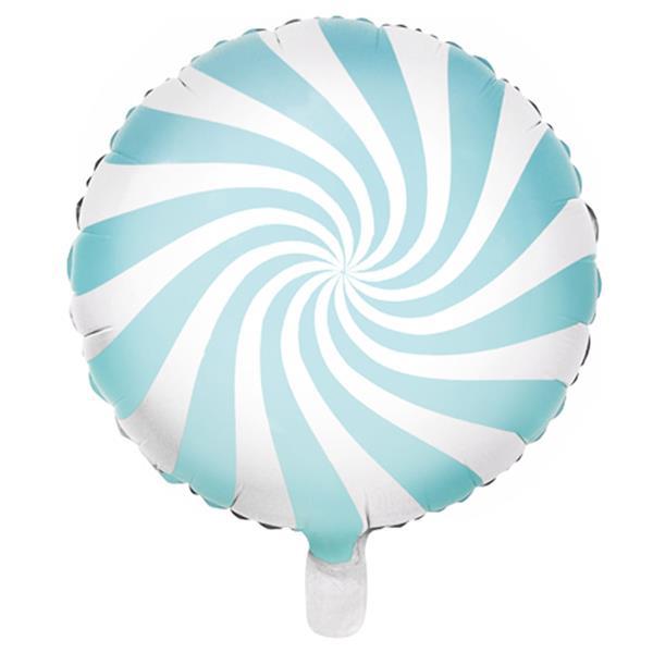 Balão Candy Azul Foil, 45 cm