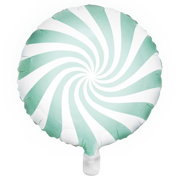 Balão Candy Verde Menta Foil, 45 cm
