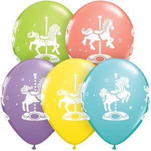 Balão Carroussel Multicolor, 30 cm