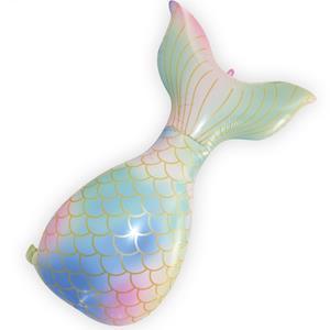 Balão Cauda de Sereia Pastel Foil, 81 cm