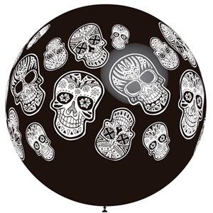 Balão Caveiras Mexicanas 90cm