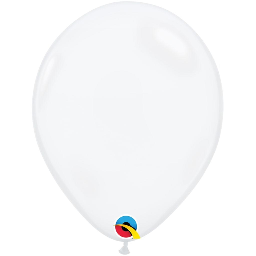 Balão Clear Diamond Látex, 45 cm
