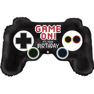 Balão Comando Consola Game On Foil, 91 cm