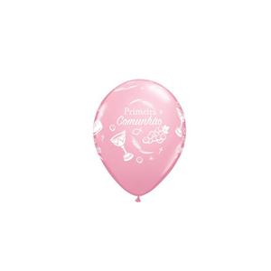 Balão Comunhão Rosa Un
