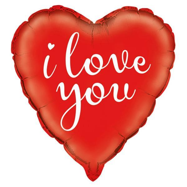Balão Coração I Love You