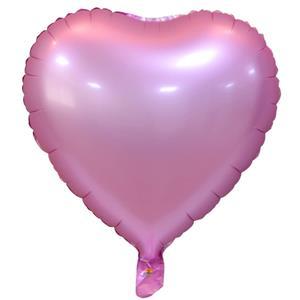 Balão Coração Rosa Foil, 51 cm