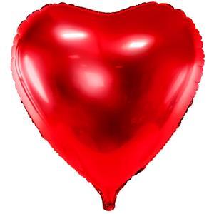 Balão Coração Vermelho Foil, 72 cm