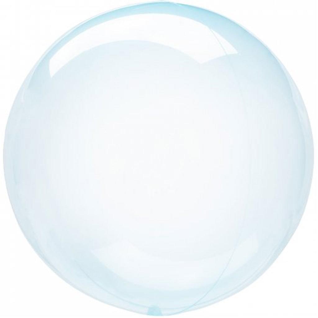 Balão Crystal Clearz Azul, 45 cm
