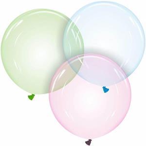 Balões Crystal Látex, 60 cm
