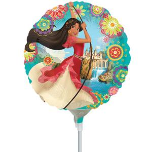 Balão Elena de Avalor Mini Shape Foil, 20 cm