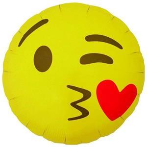 Balão Emoji Beijo