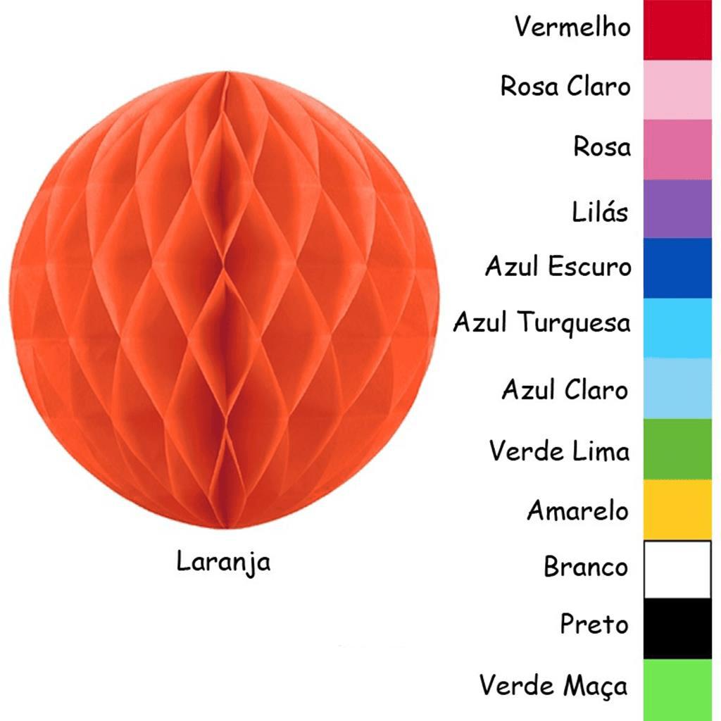 Balão Favos Papel, 25 cm