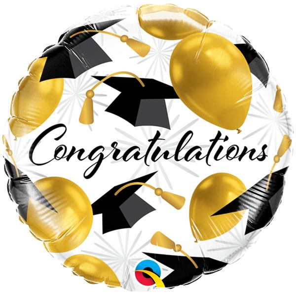 Balão Congratulations Foil, 46 Cm