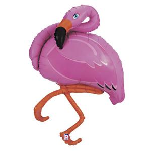 Balão Flamingo Foil, 122cm