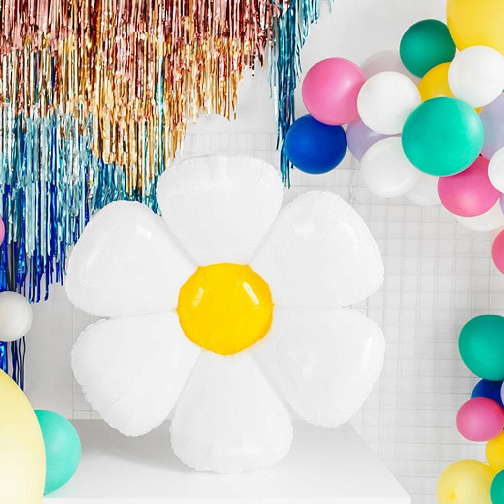 Balão Flor Margarida Foil, 75 cm