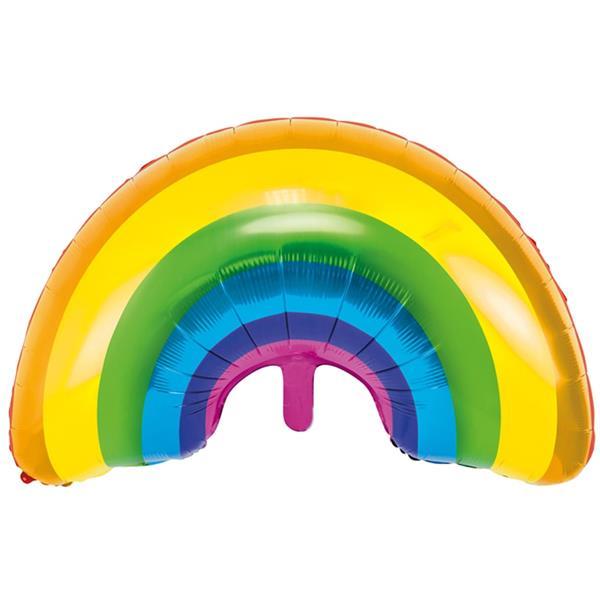 Balão Foil Arco-íris, 73 cm